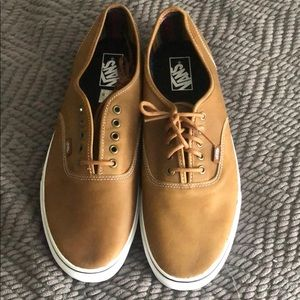 Mens Vans Brown leather shoes